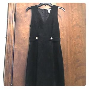 Suede a line H&M dress